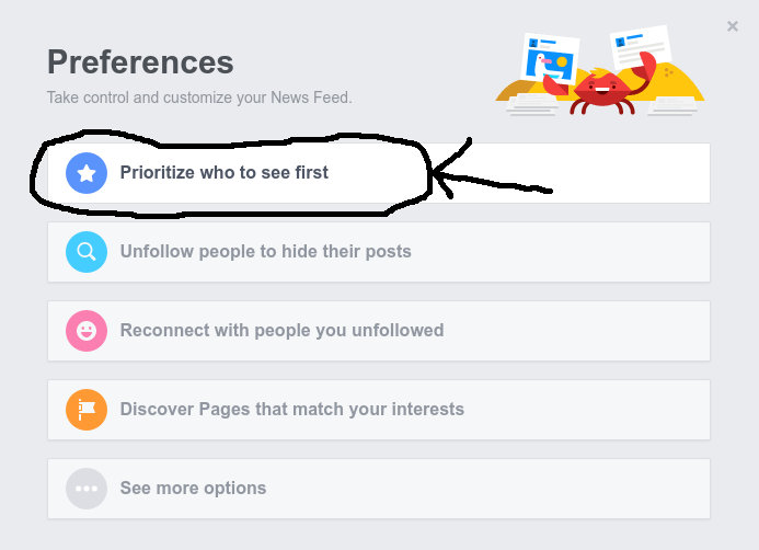 How To Keep Getting News From The CAC Facebook Page In Facebook's Changed News Feed