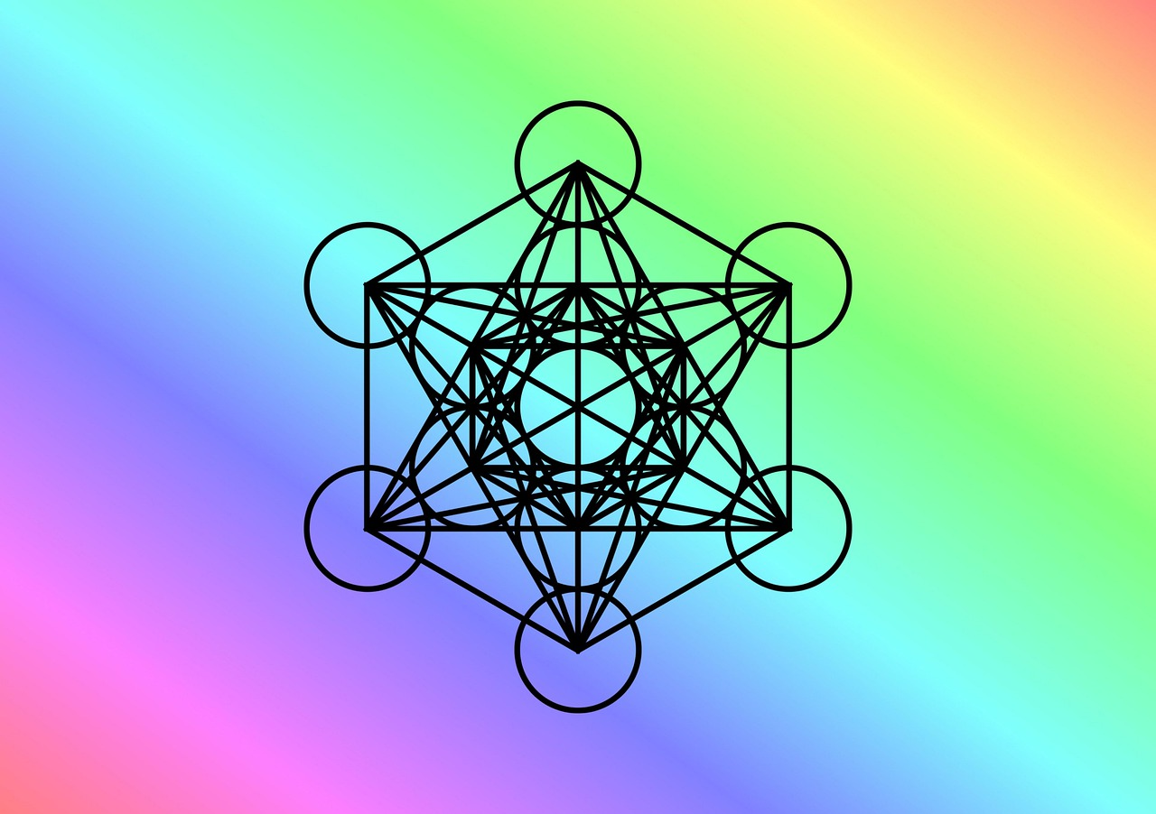 Unified States of Awareness Metatron Cube